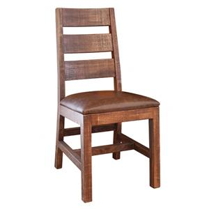 International Furniture Direct Monte Carlo Ladder Back Chair