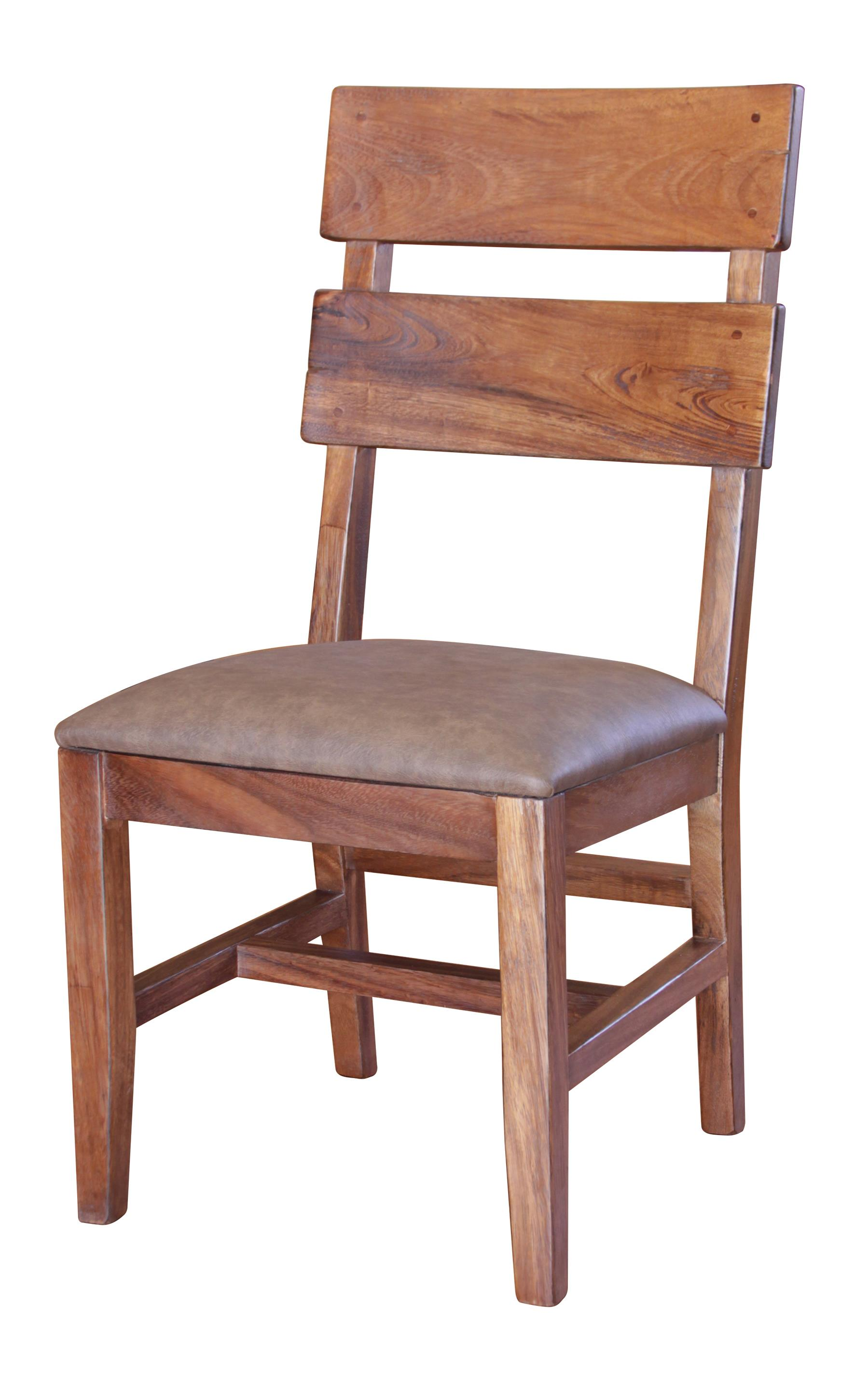 Chair with Bonded Leather Seat