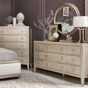 9-Drawer Dresser & Mirror