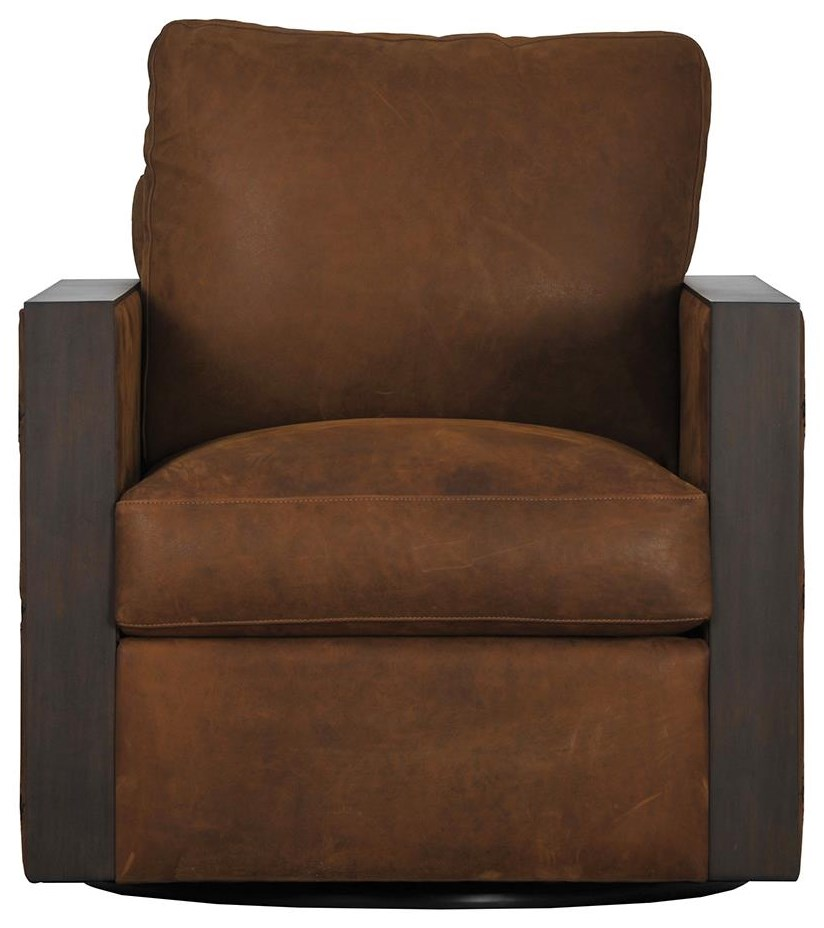 Leather Swivel Chair at Williams & Kay