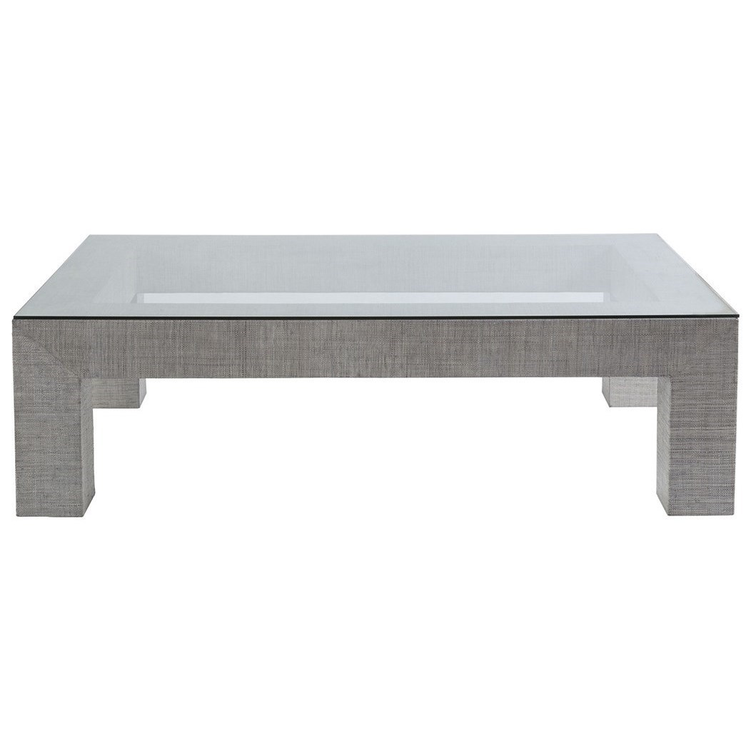 Precept Precept Rectangular Cocktail Table by Artistica at Alison Craig Home Furnishings