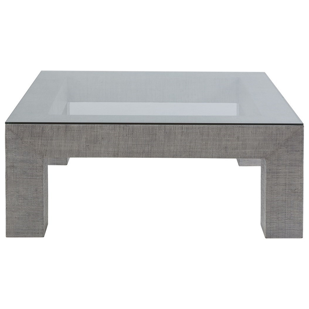 Precept Precept Square Cocktail Table by Artistica at Jacksonville Furniture Mart