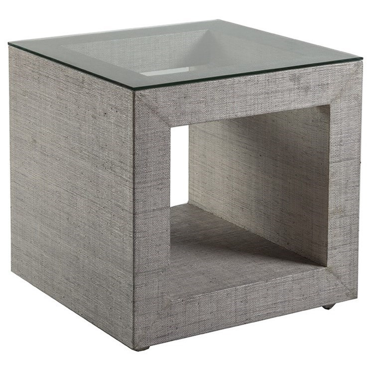 Precept Precept Square End Table  by Artistica at Jacksonville Furniture Mart