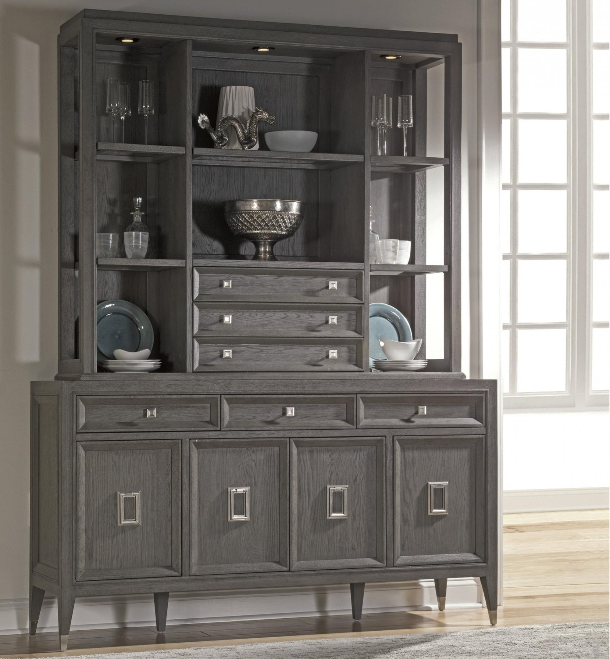 Appellation Buffet and Hutch by Artistica at Baer's Furniture