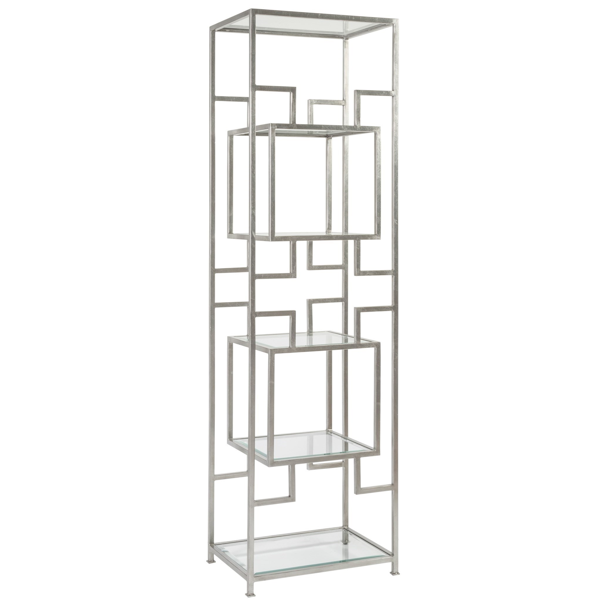 Metal Designs Suspension Slim Etagere by Artistica at Baer's Furniture