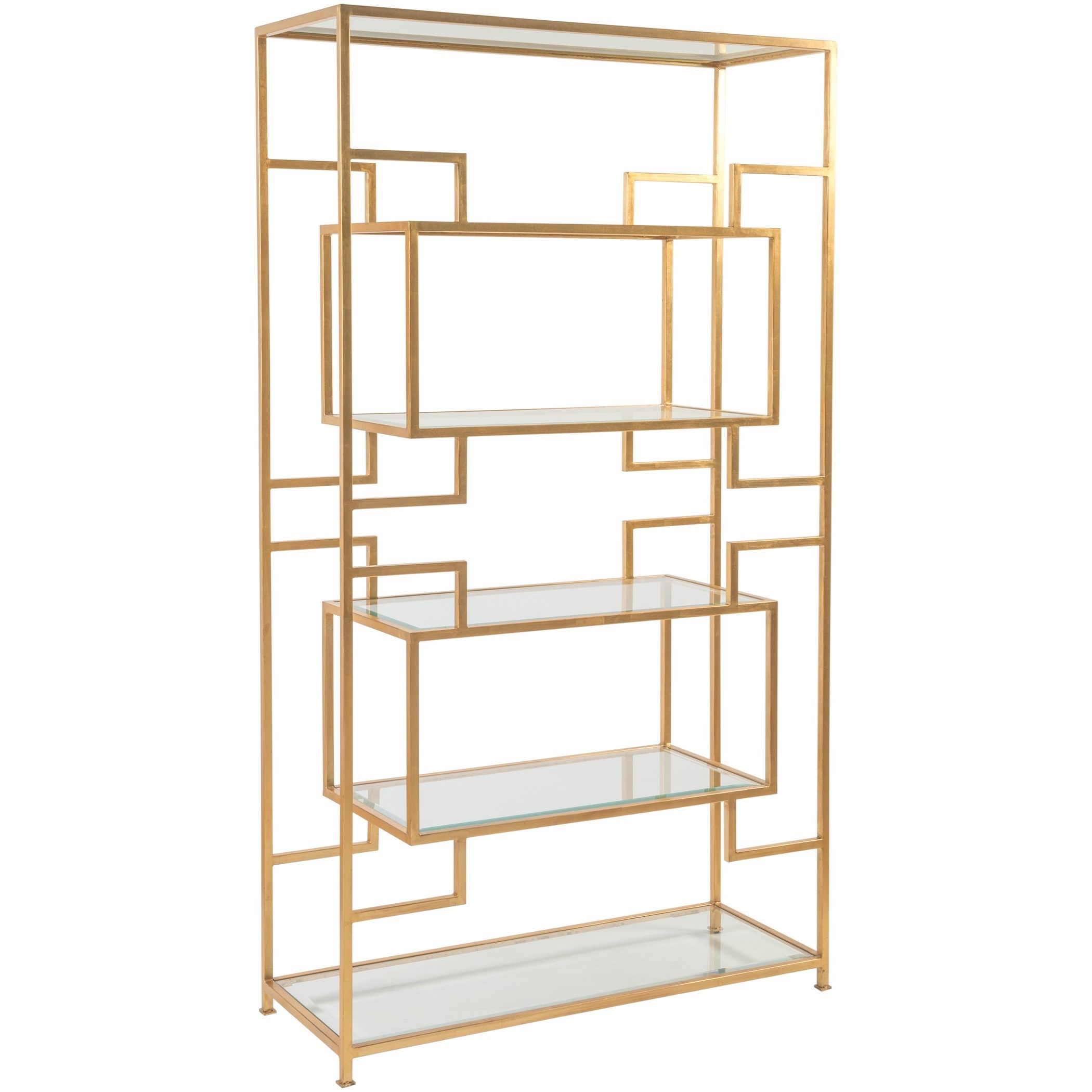 Metal Designs Suspension Etagere by Artistica at Alison Craig Home Furnishings