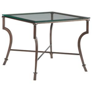 Syrah Square End Table