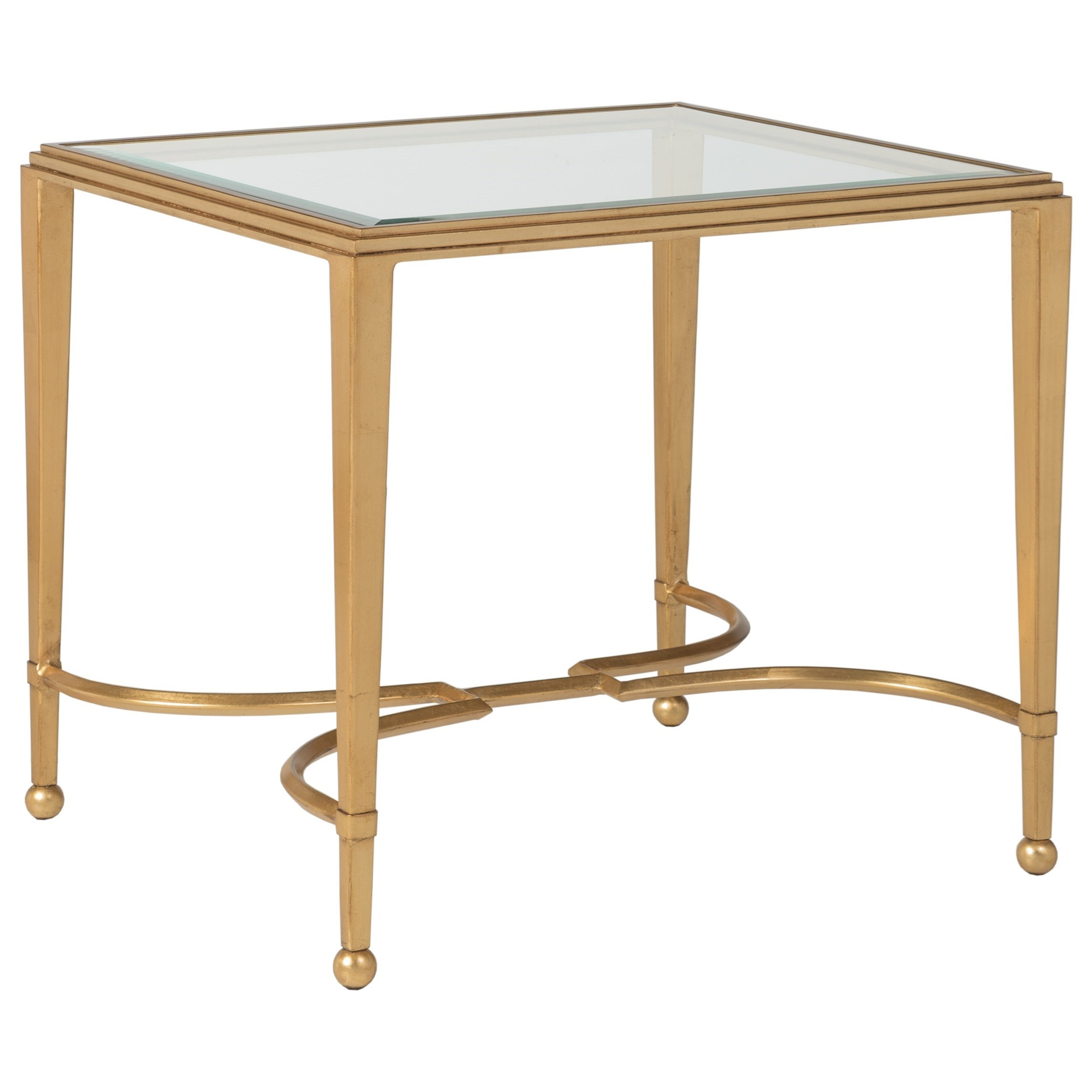 Metal Designs Sangioves Rectangular End Table by Artistica at Baer's Furniture