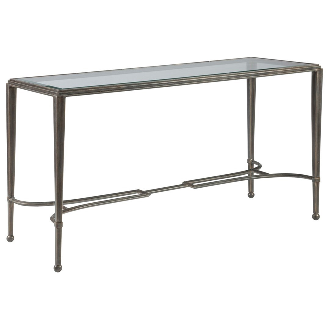 Metal Designs Sangiovese Console by Artistica at Baer's Furniture