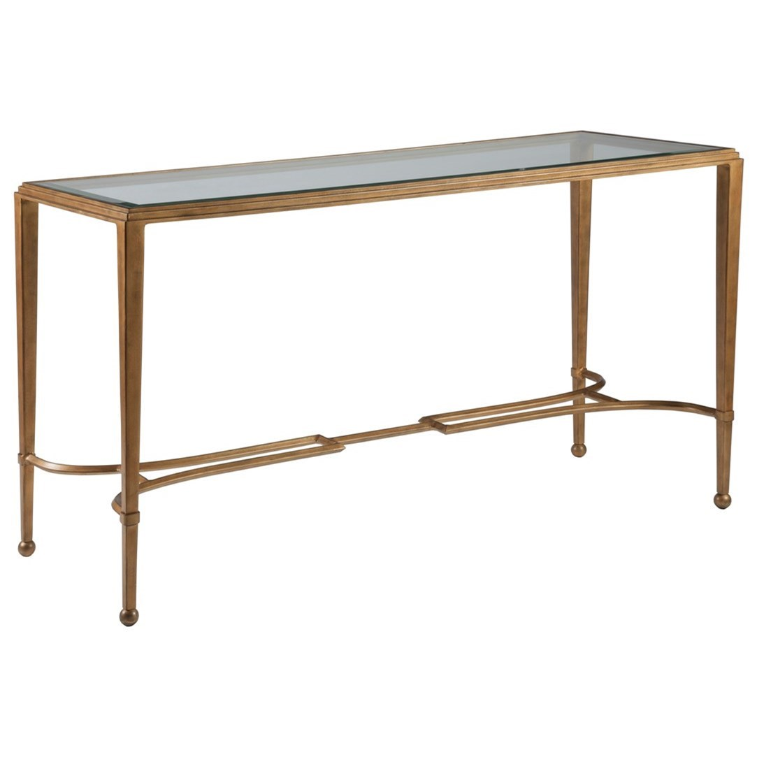 Metal Designs Sangiovese Console by Artistica at Alison Craig Home Furnishings