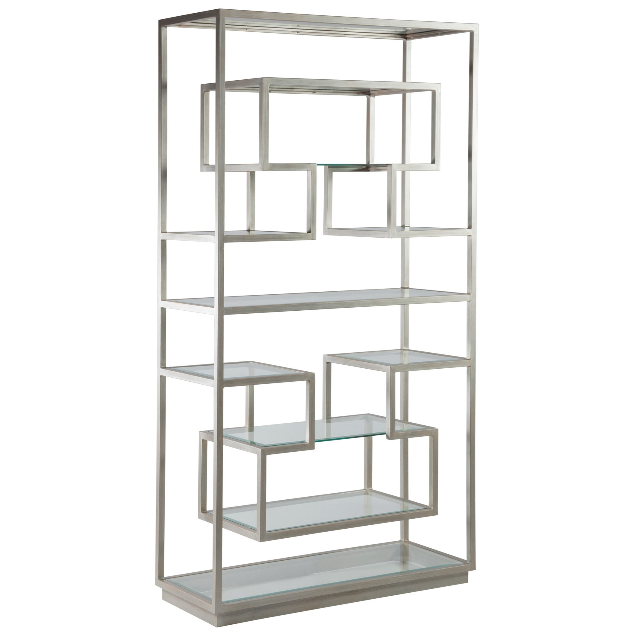 Metal Designs Holden Etagere by Artistica at Alison Craig Home Furnishings