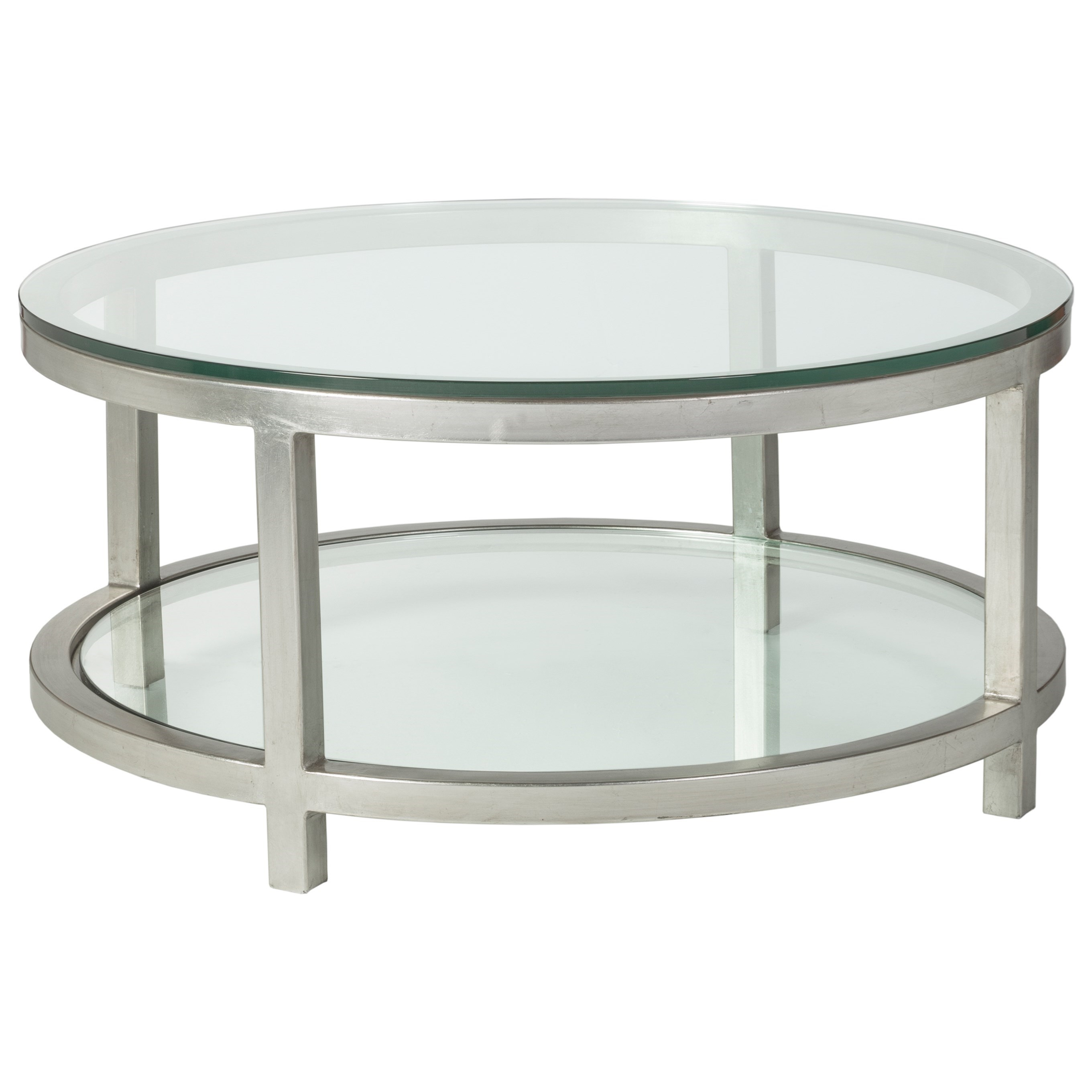 Metal Designs Per Se Round Cocktail Table by Artistica at Alison Craig Home Furnishings