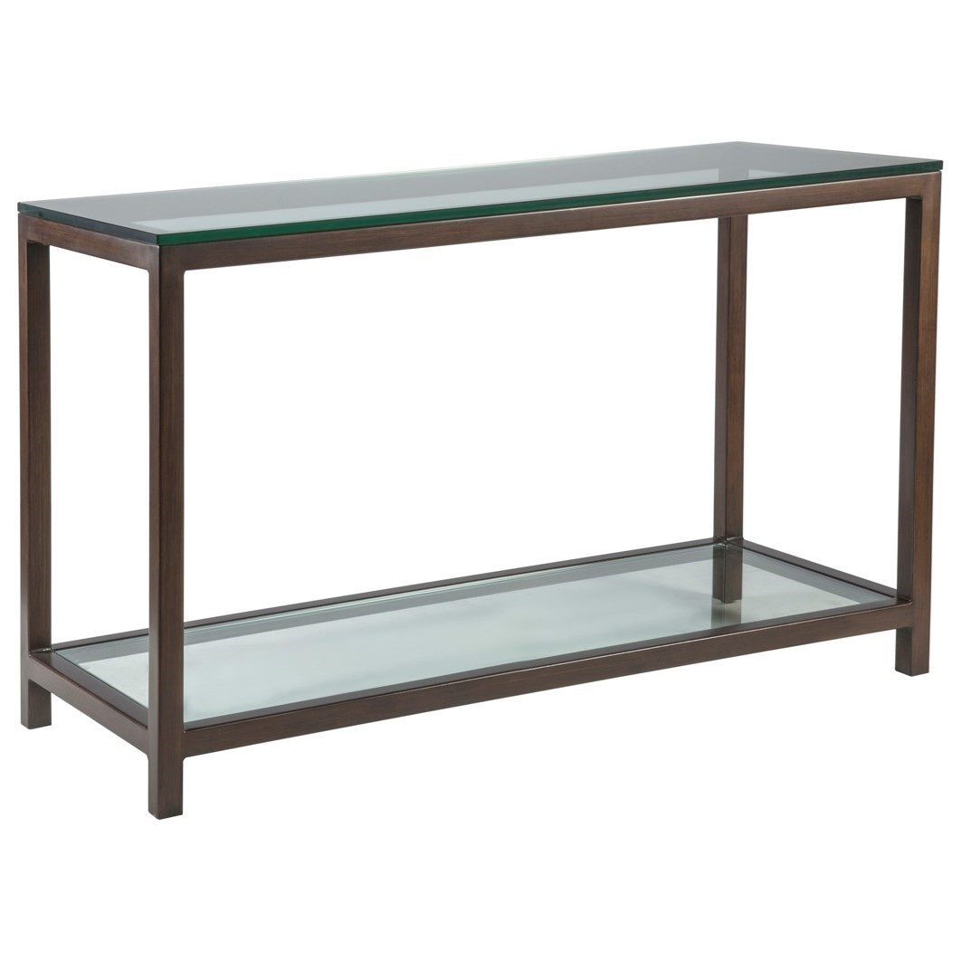 Metal Designs Per Se Console Table by Artistica at Alison Craig Home Furnishings
