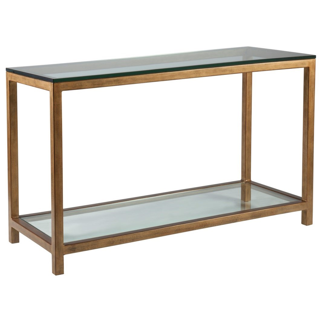 Metal Designs Per Se Console Table by Artistica at Jacksonville Furniture Mart