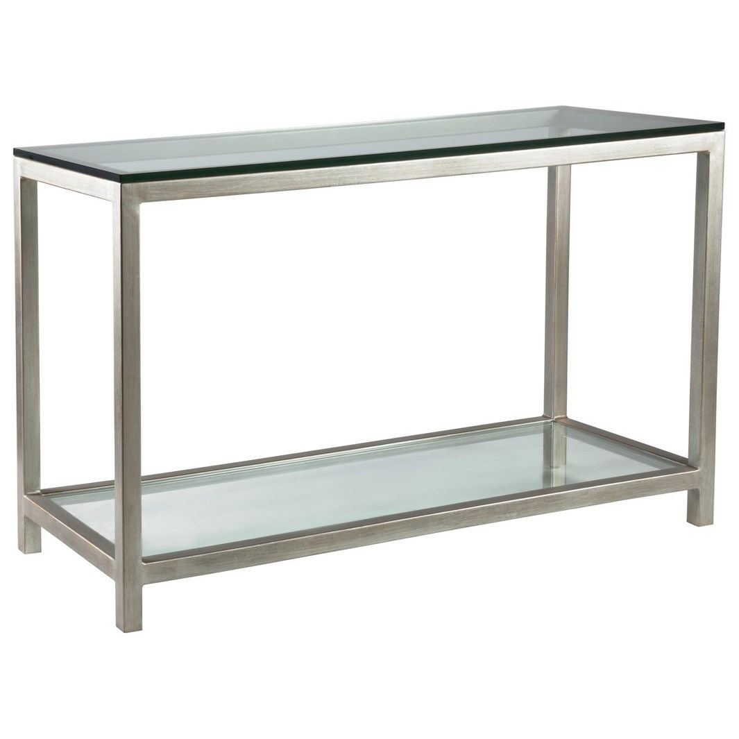 Metal Designs Per Se Console Table by Artistica at Baer's Furniture