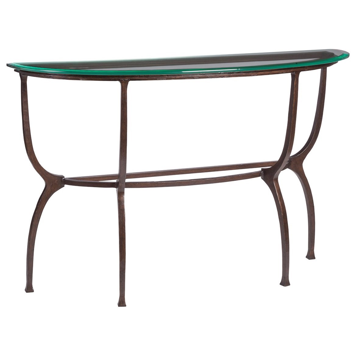 Metal Designs Patois Console by Artistica at Baer's Furniture