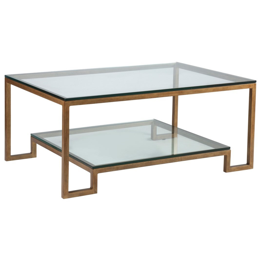Metal Designs Bonaire Rectangular Cocktail Table by Artistica at Baer's Furniture