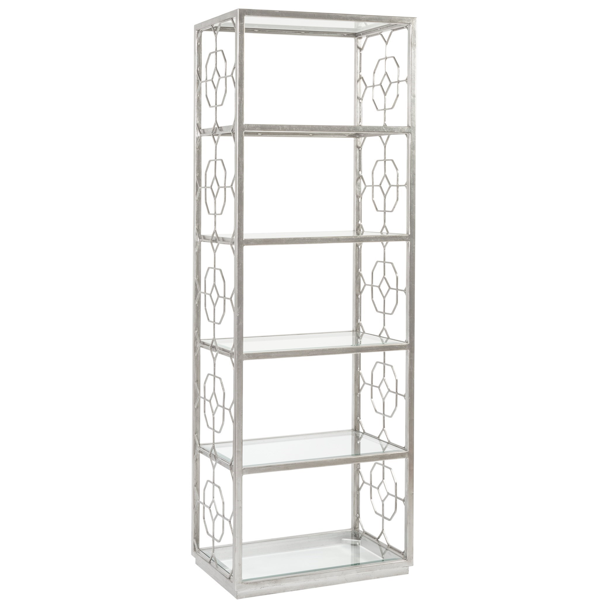 Metal Designs Honeycomb Slim Etagere by Artistica at Baer's Furniture