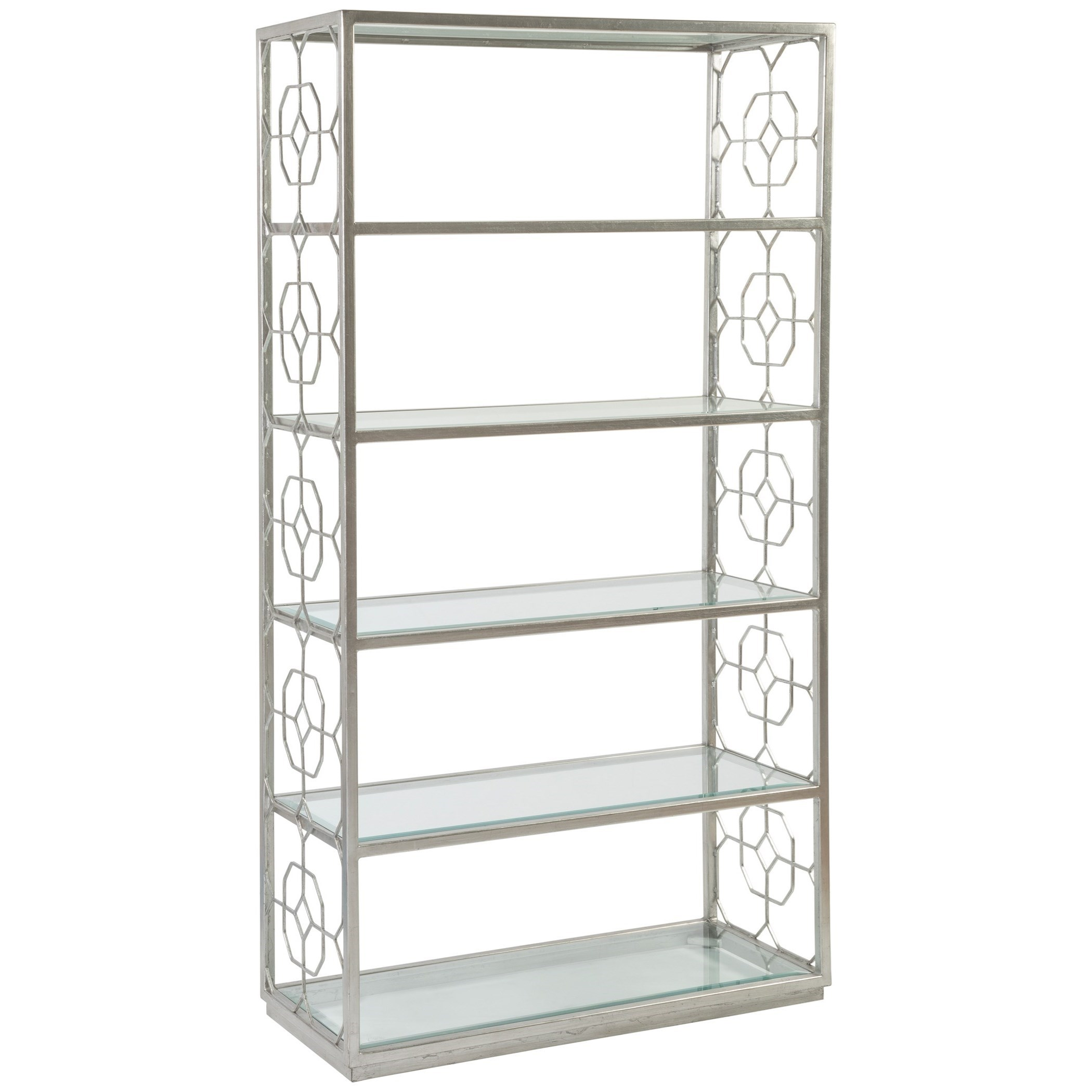 Metal Designs Honeycomb Etagere by Artistica at Baer's Furniture