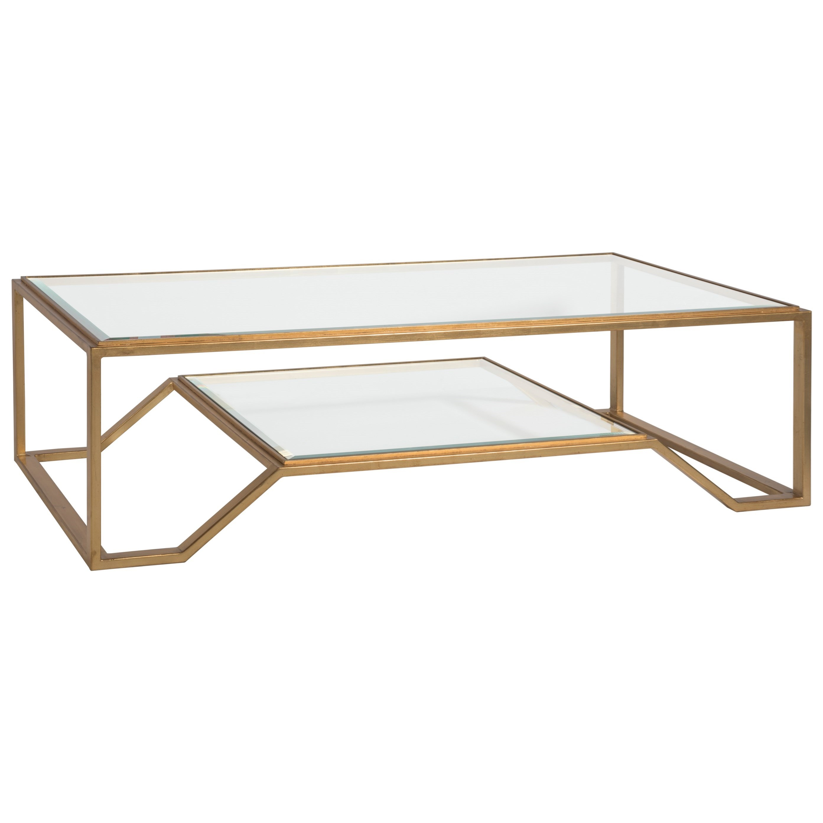 Metal Designs Byron Rectangular Cocktail Table by Artistica at Alison Craig Home Furnishings