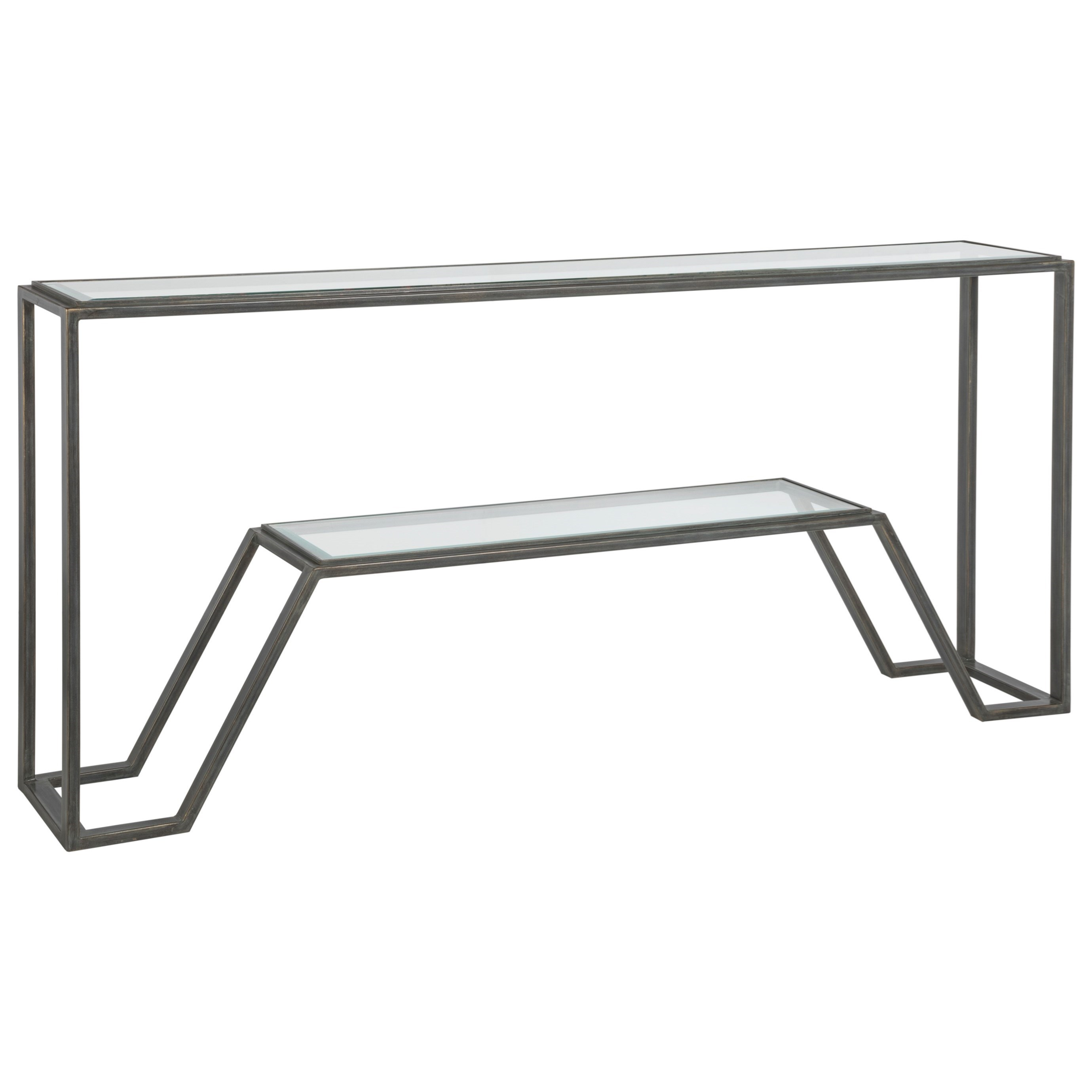 Metal Designs Byron Console by Artistica at Baer's Furniture