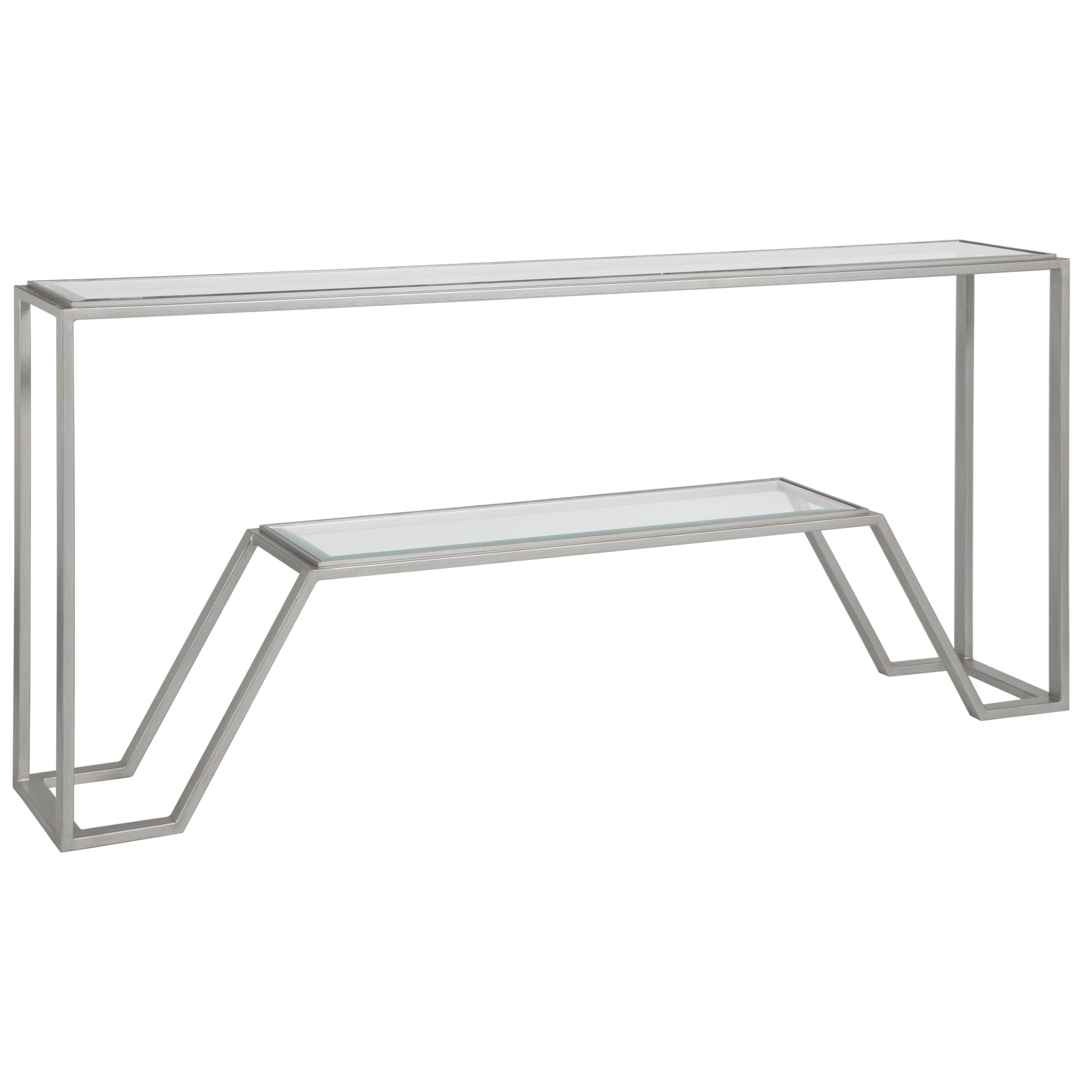 Metal Designs Byron Console by Artistica at Alison Craig Home Furnishings