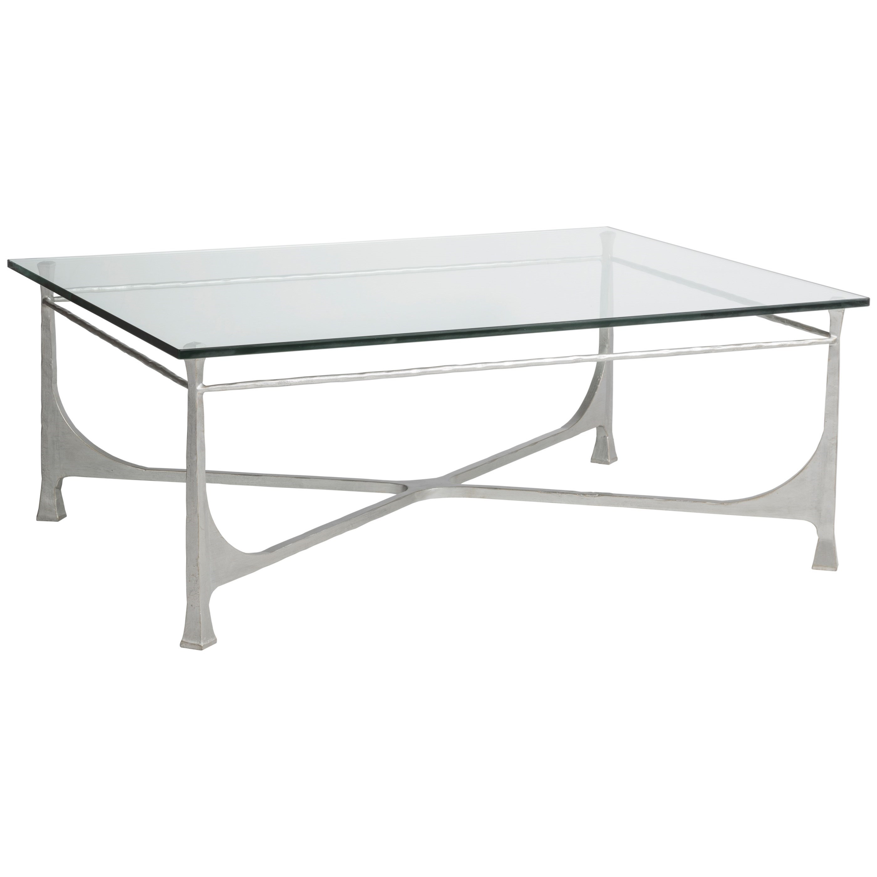 Metal Designs Bruno Rectangular Cocktail Table by Artistica at Baer's Furniture