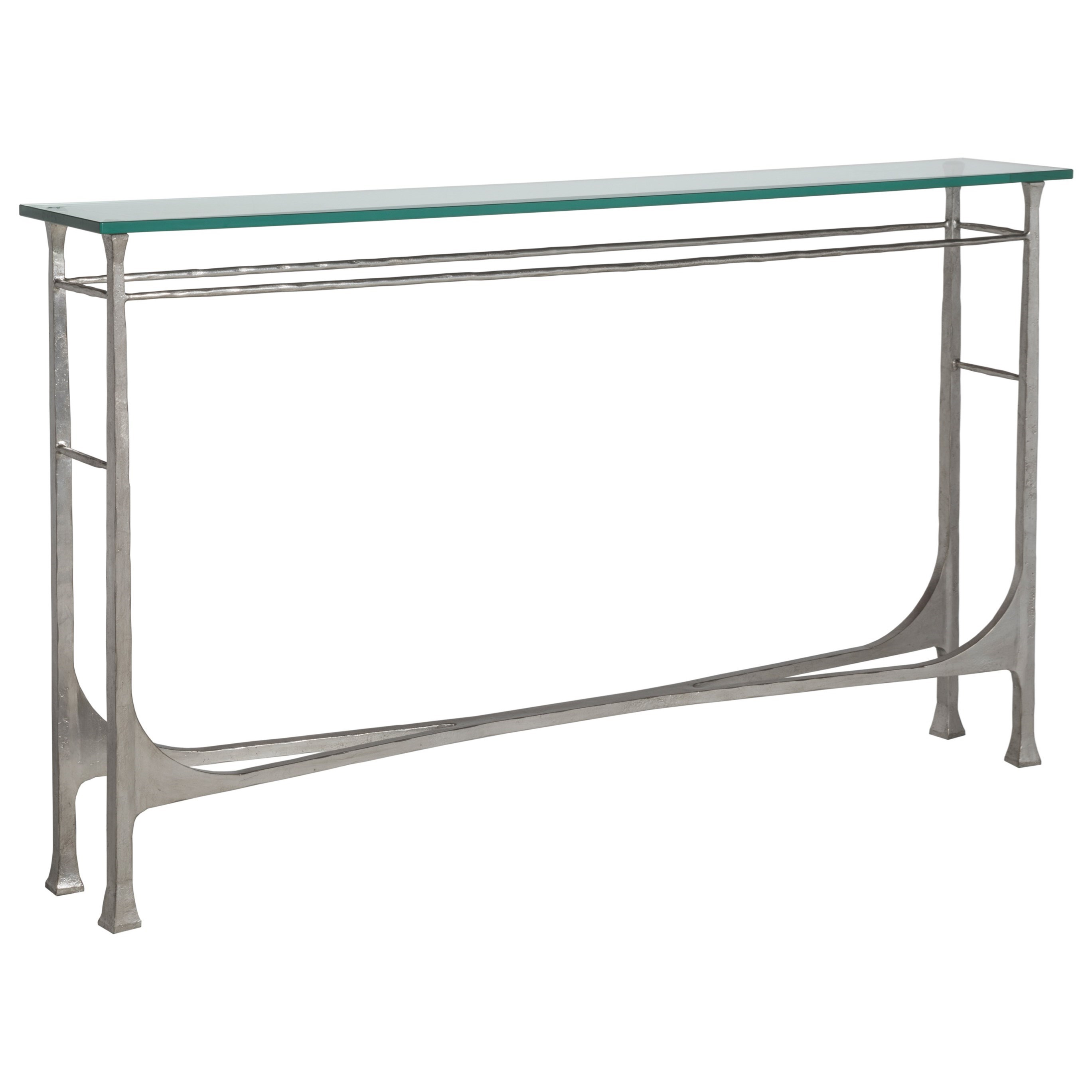 Metal Designs Bruno Console by Artistica at Alison Craig Home Furnishings