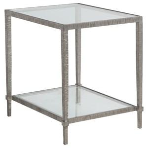 Claret Rectangular End Table