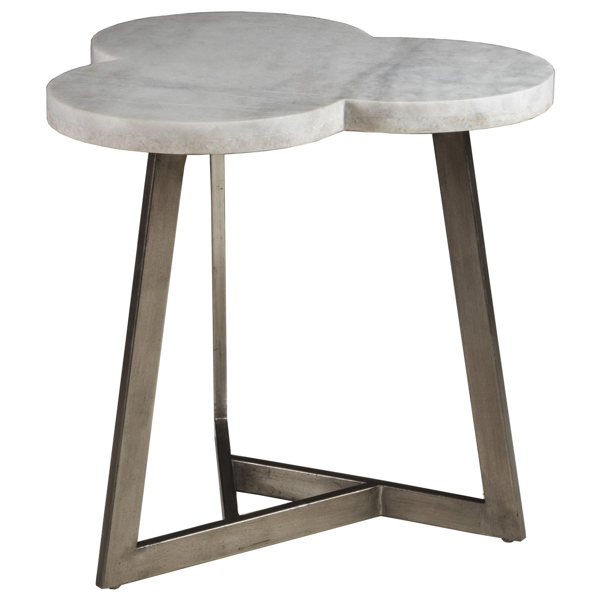 Artisto Clover End Table by Artistica at Baer's Furniture
