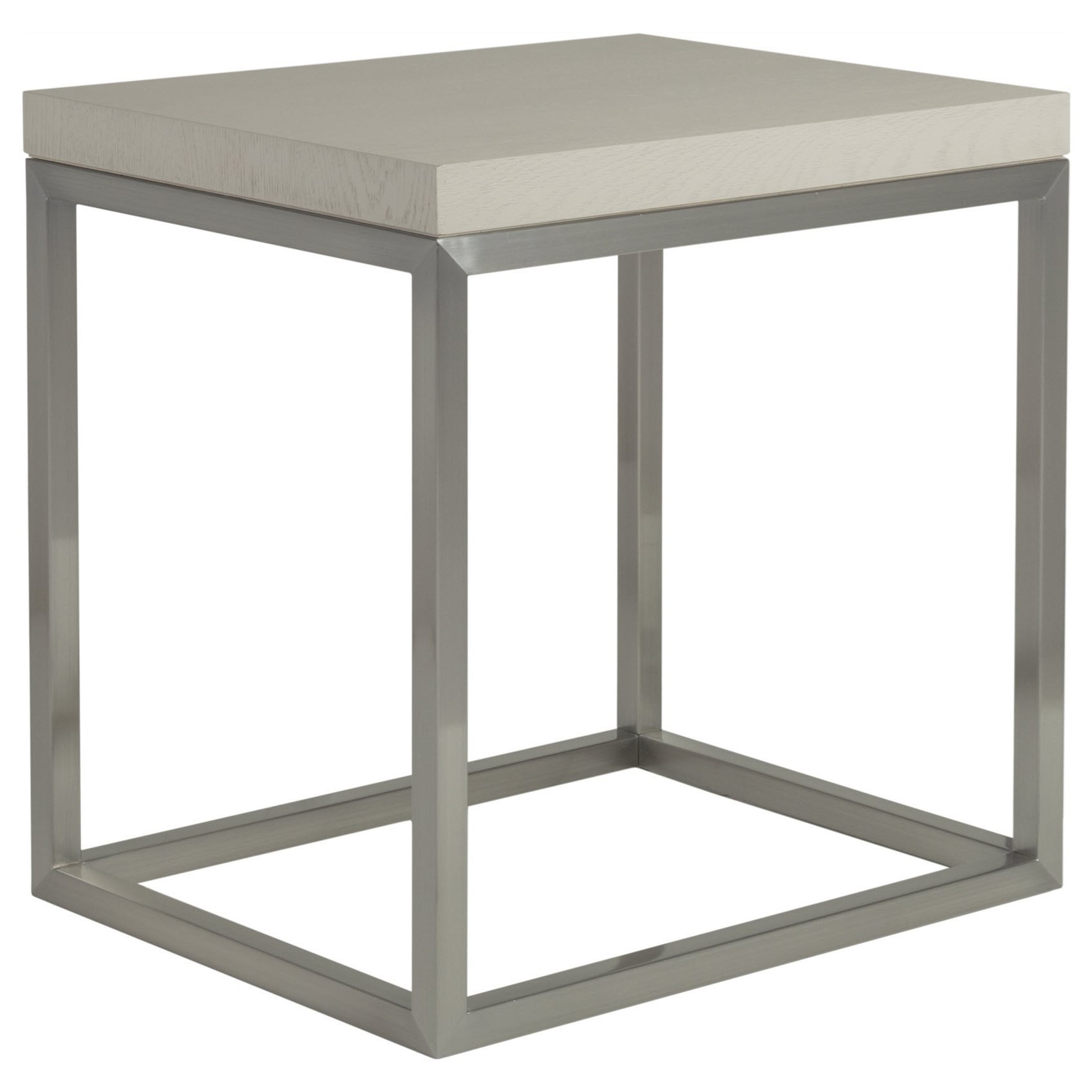 Arturo Rectangular End Table by Artistica at Baer's Furniture
