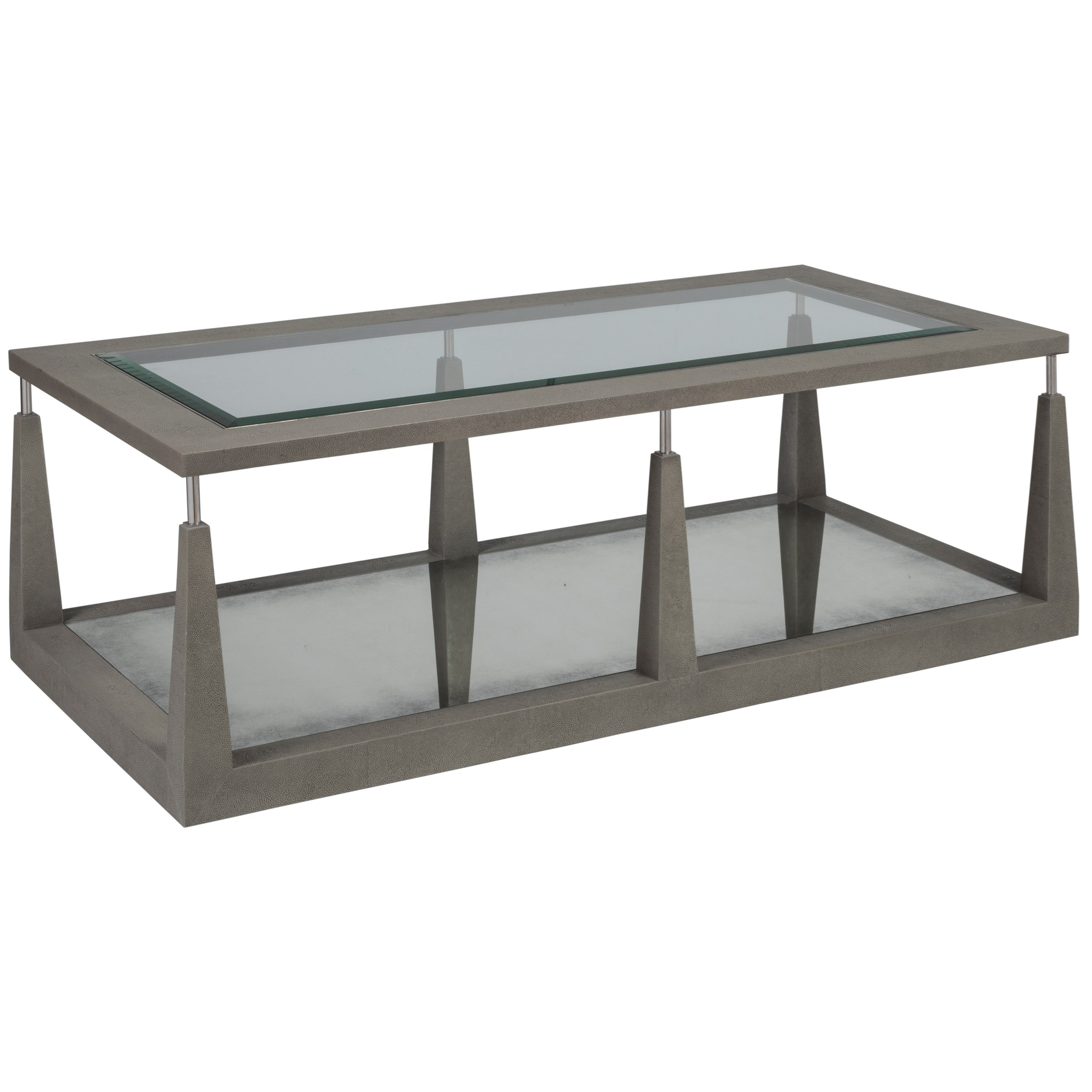 Ascension Rectangular Cocktail Table by Artistica at Alison Craig Home Furnishings