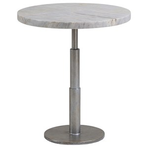 Spire Spot Table with Marble Top