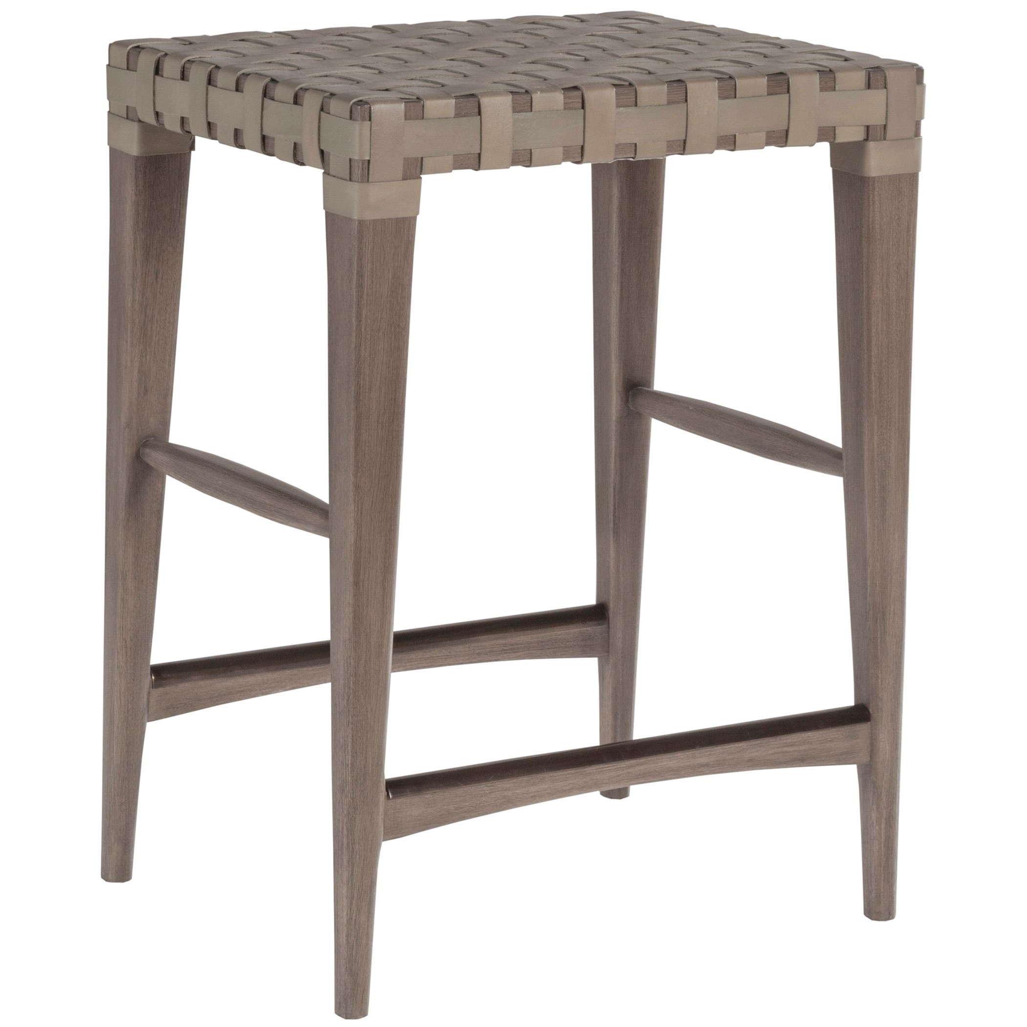 Cohesion Milo Leather Backless Counter Stool by Artistica at Baer's Furniture