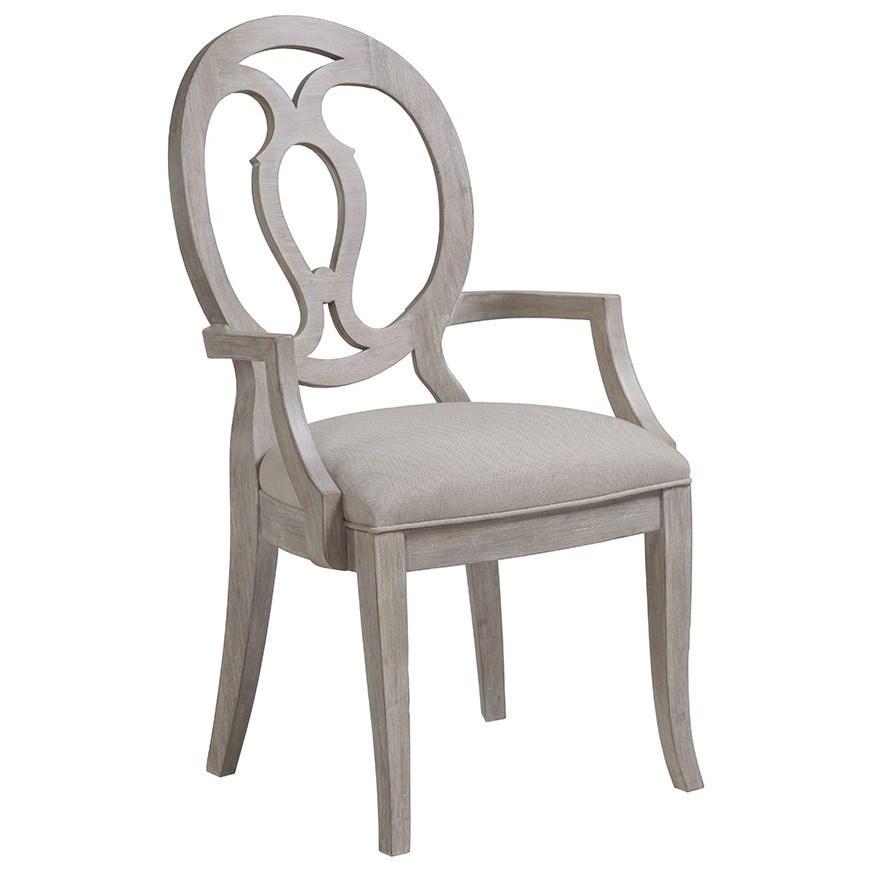 Cohesion Axiom Arm Chair by Artistica at Baer's Furniture