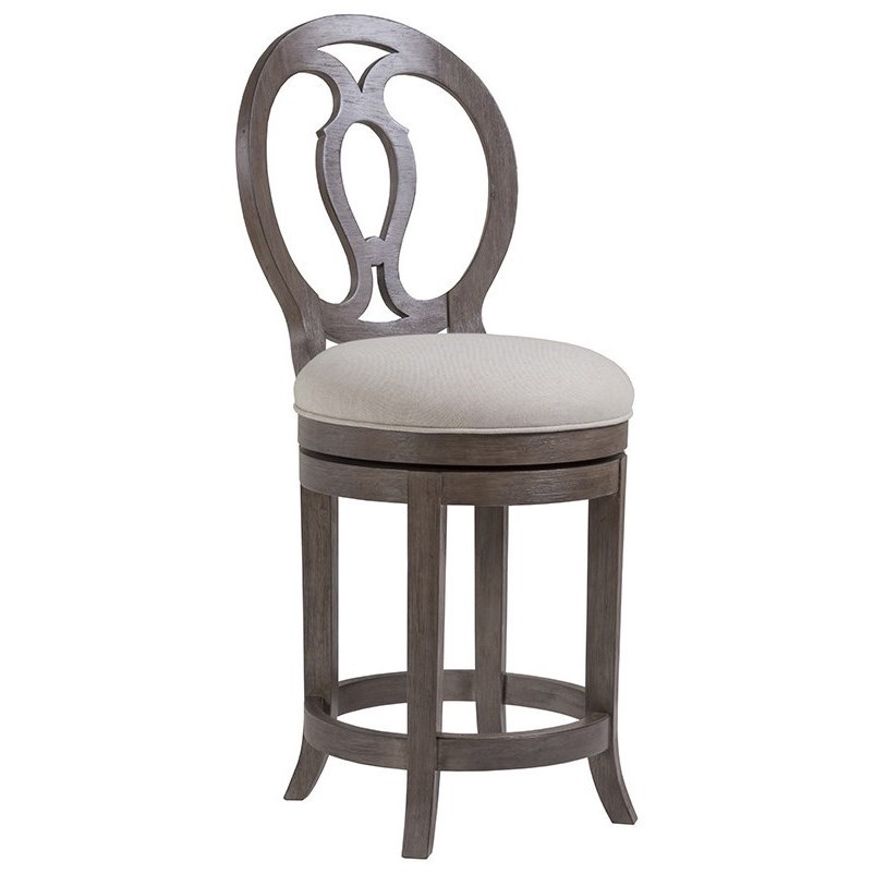 Cohesion Axiom Swivel Counter Stool by Artistica at Alison Craig Home Furnishings