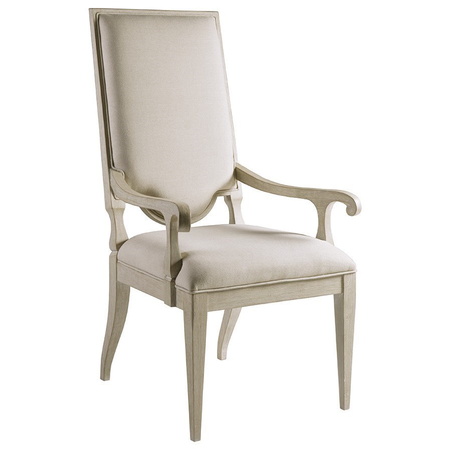 Cohesion Beauvoir Upholstered Arm Chair by Artistica at Baer's Furniture