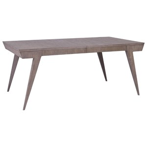 Haiku Rectangular Dining Table with One Table Leaf
