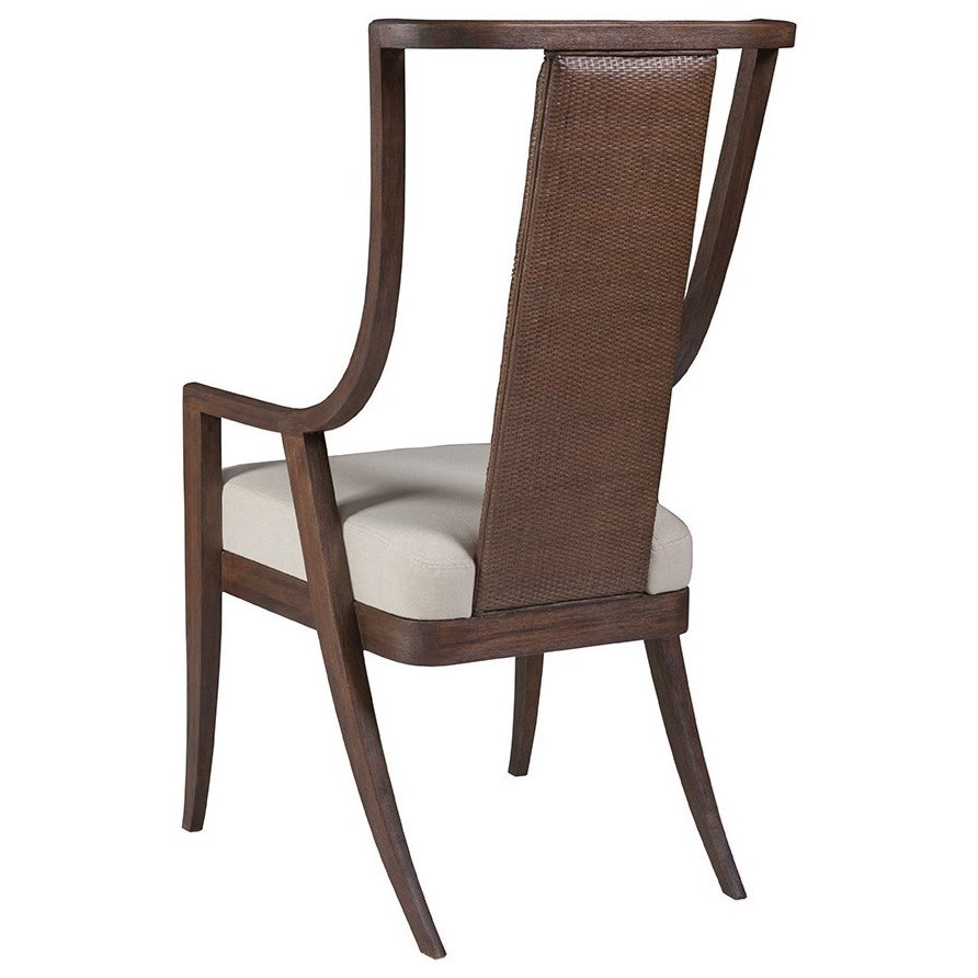 Cohesion Mistral Woven Arm Chair by Artistica at Baer's Furniture