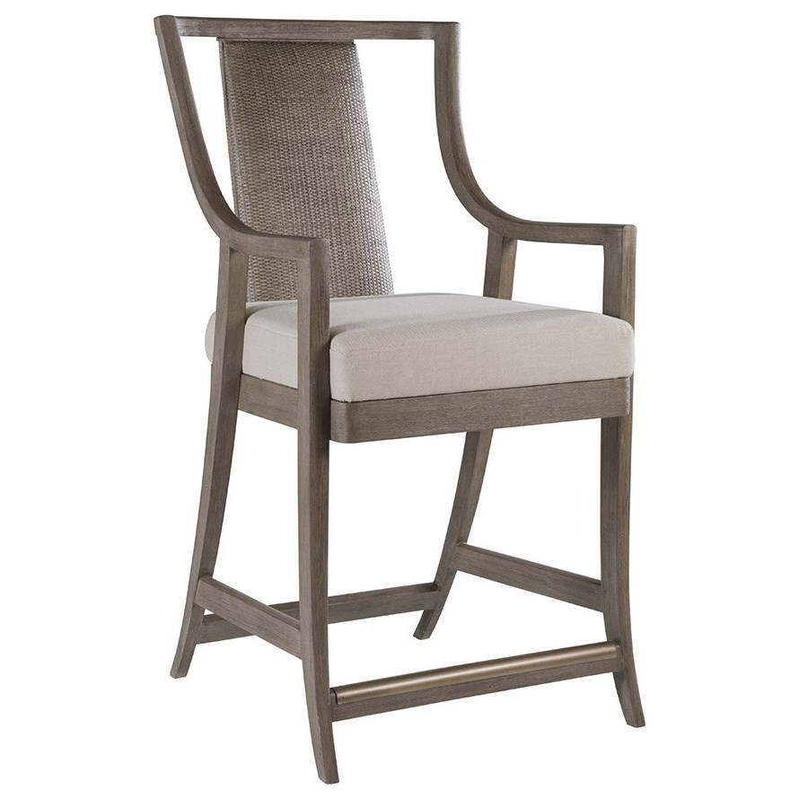Cohesion Mistral Woven Counter Stool by Artistica at Johnny Janosik