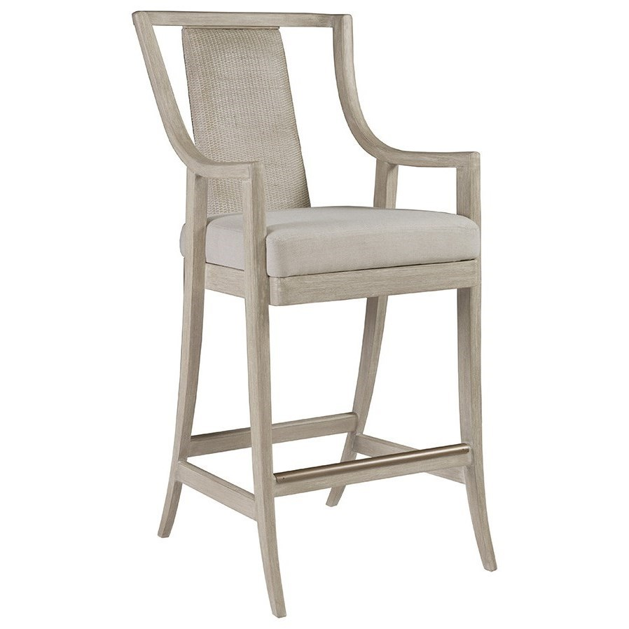 Cohesion Mistral Woven Bar Stool by Artistica at Baer's Furniture