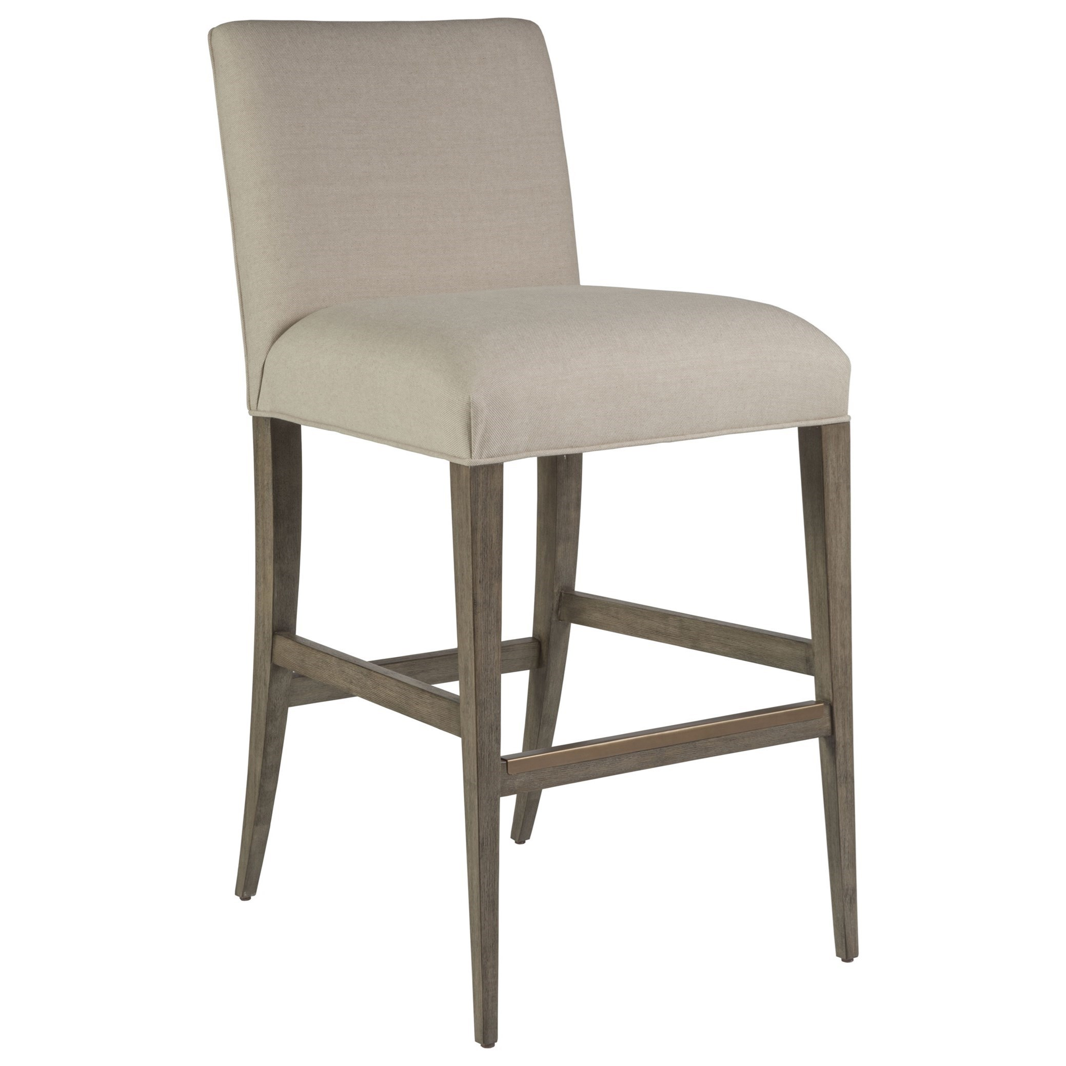 Cohesion Madox Upholstered Low Back Barstool by Artistica at Baer's Furniture