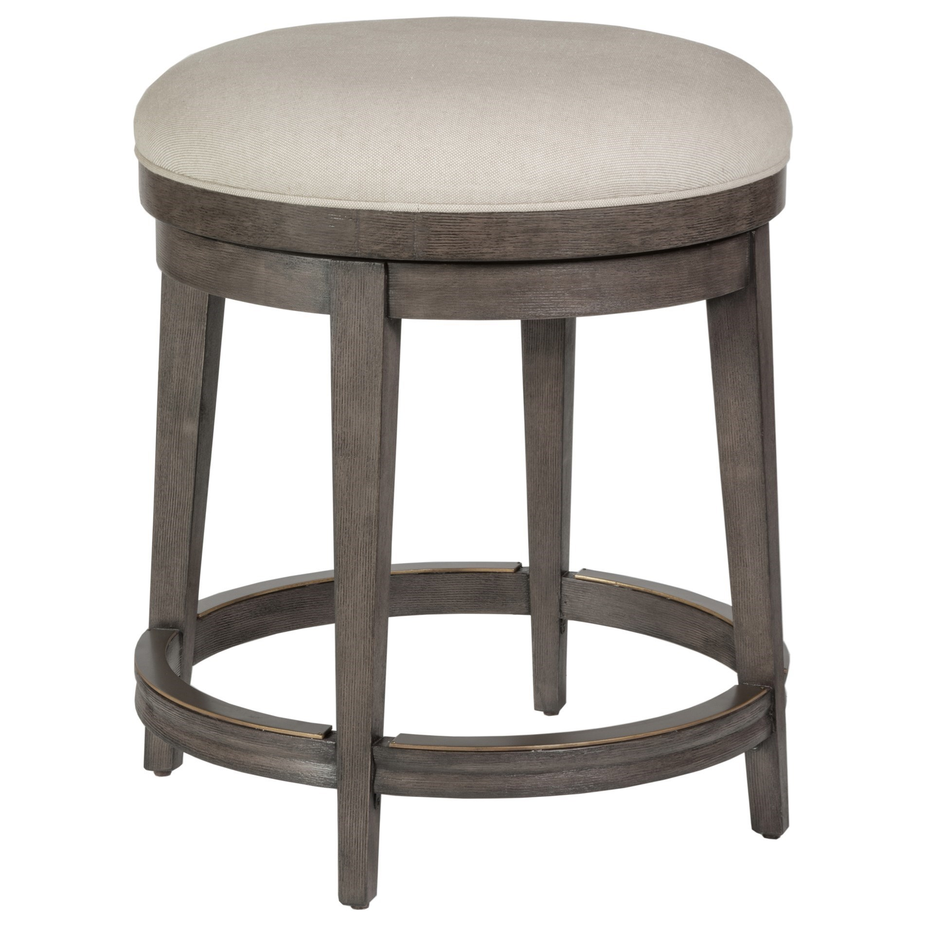 Cohesion Cecile Backless Swivel Counter Stool by Artistica at Baer's Furniture