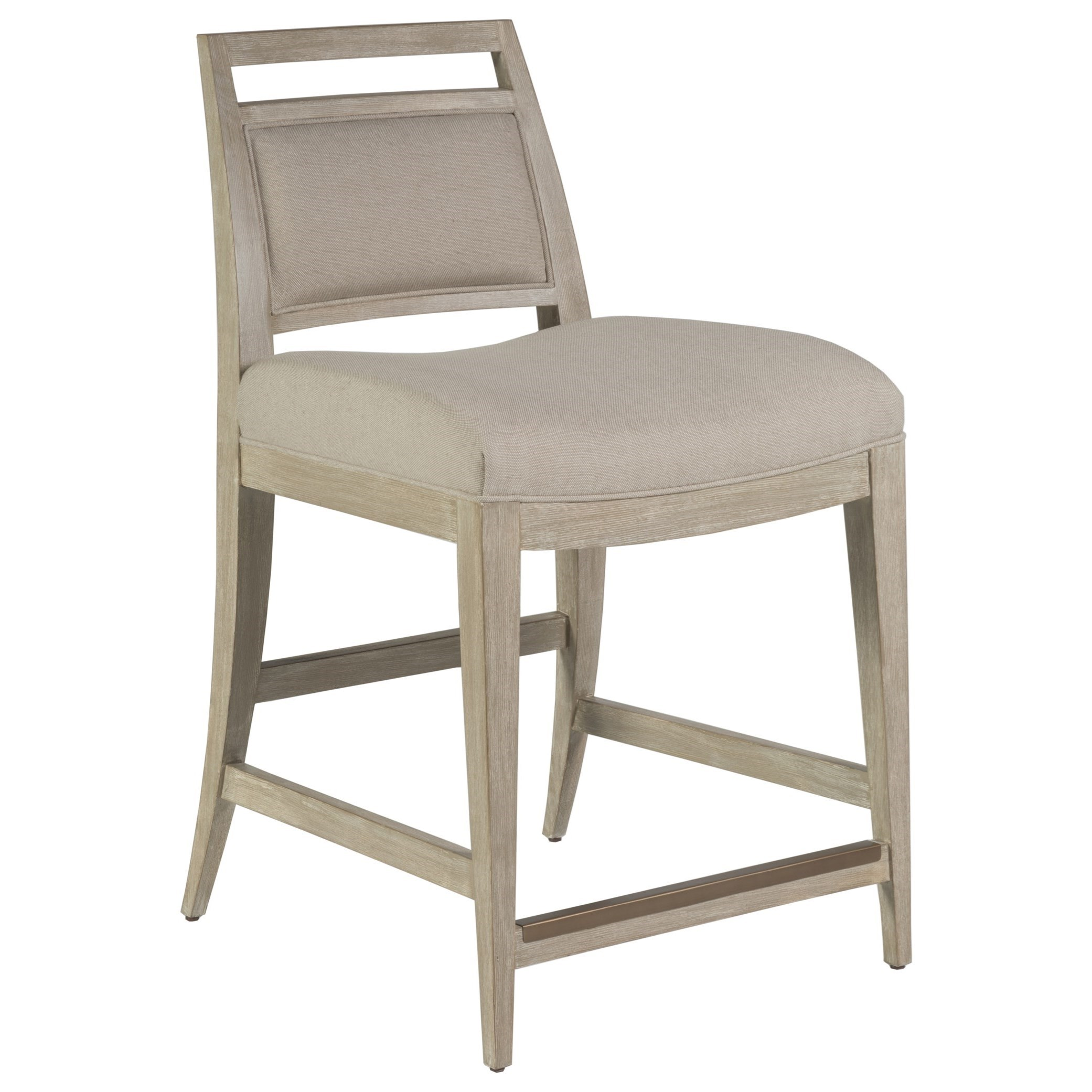 Cohesion Nico Upholstered Counter Stool by Artistica at C. S. Wo & Sons Hawaii