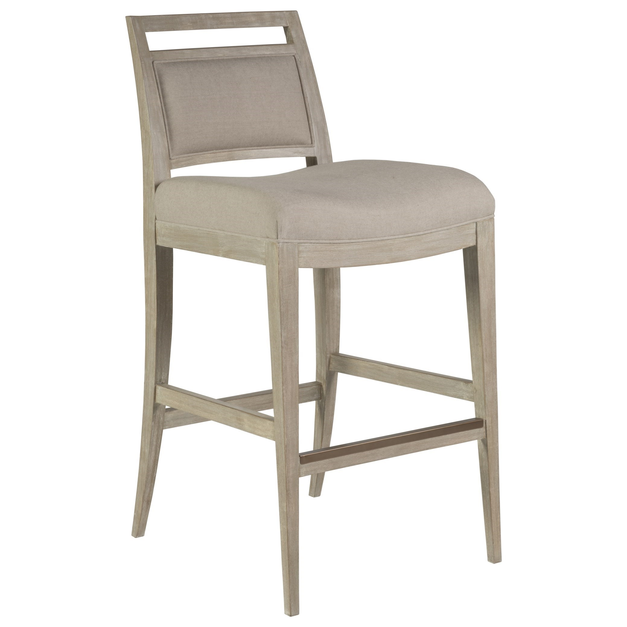 Cohesion Nico Upholstered Barstool by Artistica at Sprintz Furniture