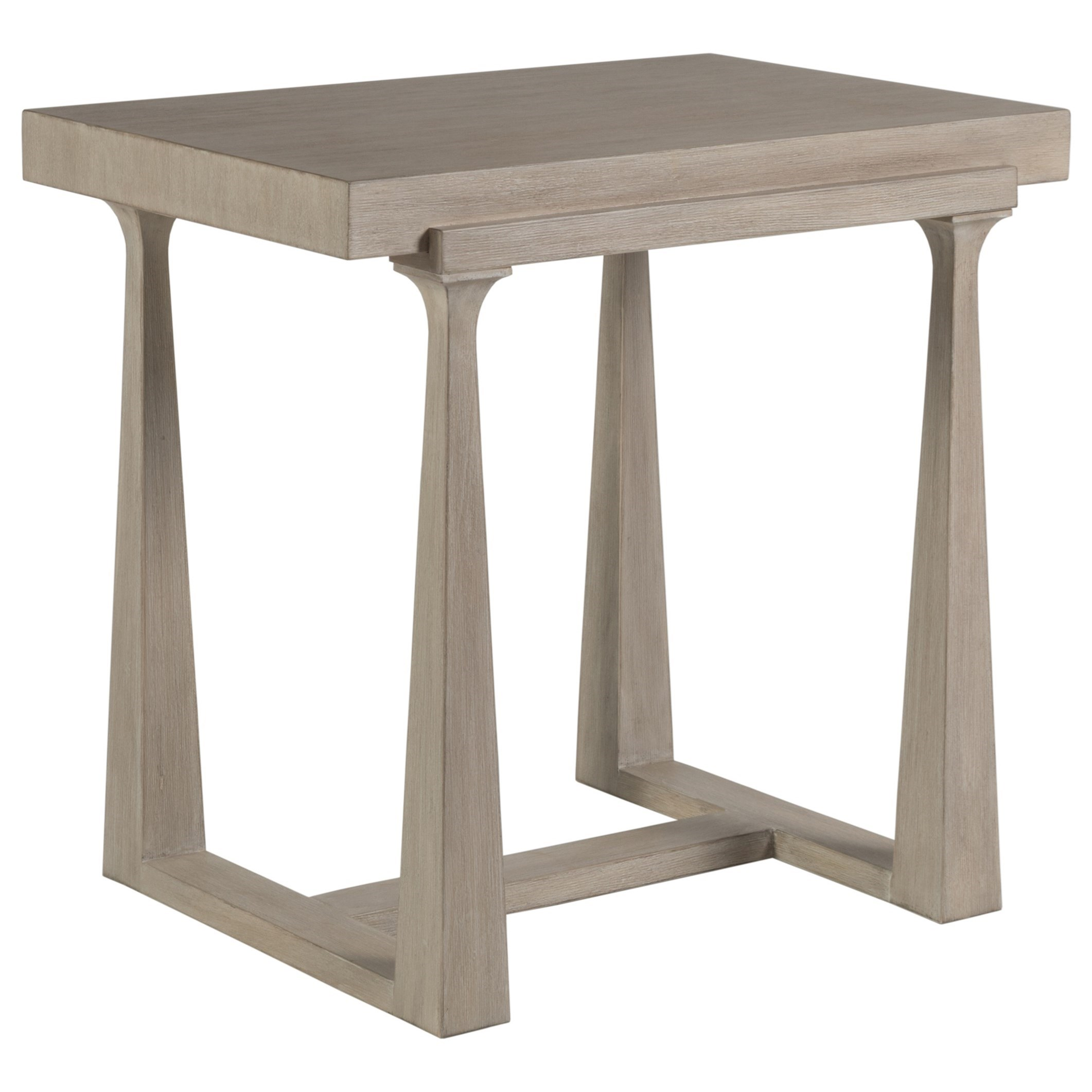 Cohesion Grantland Rectangular End Table by Artistica at Baer's Furniture