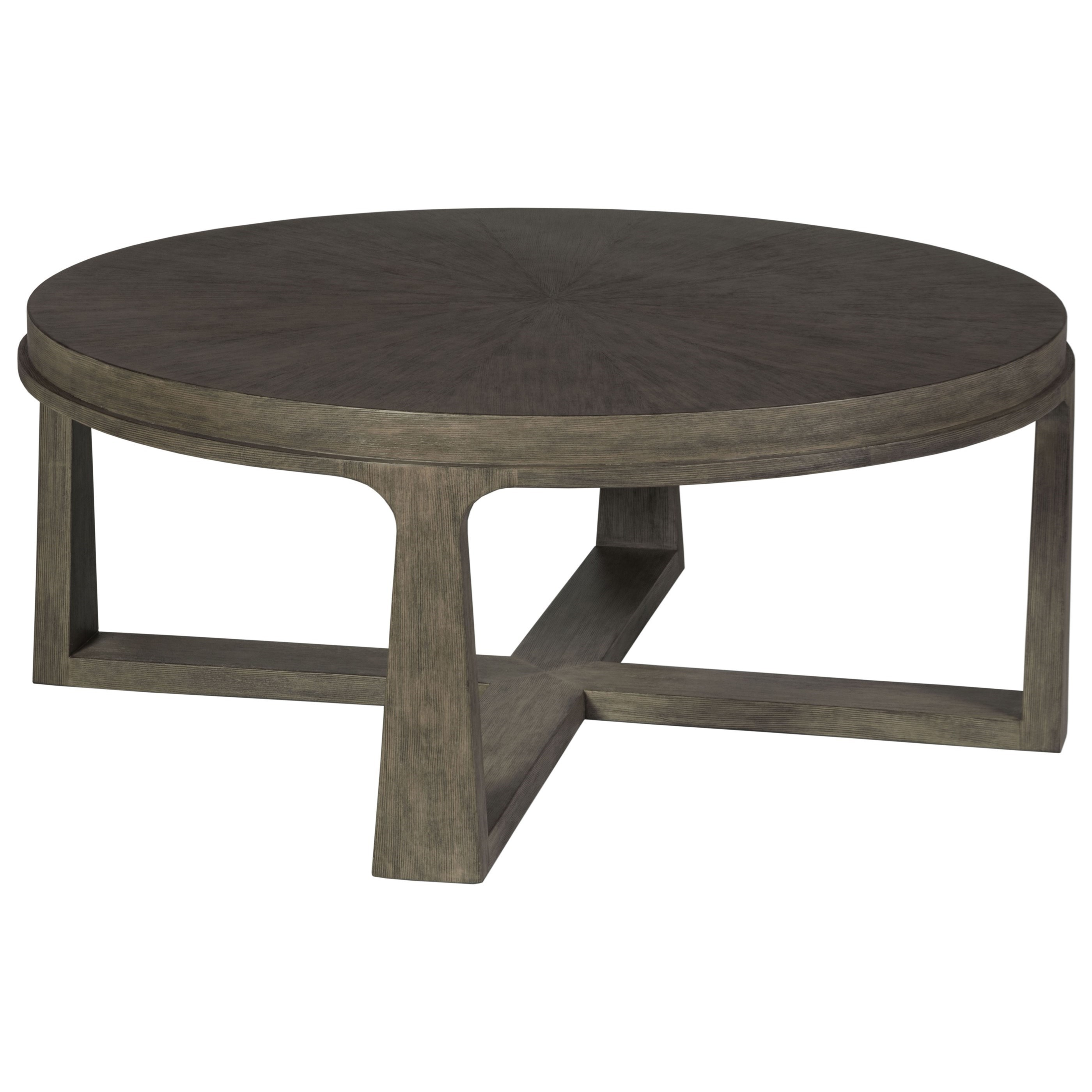 Cohesion Rousseau Round Cocktail Table by Artistica at C. S. Wo & Sons Hawaii