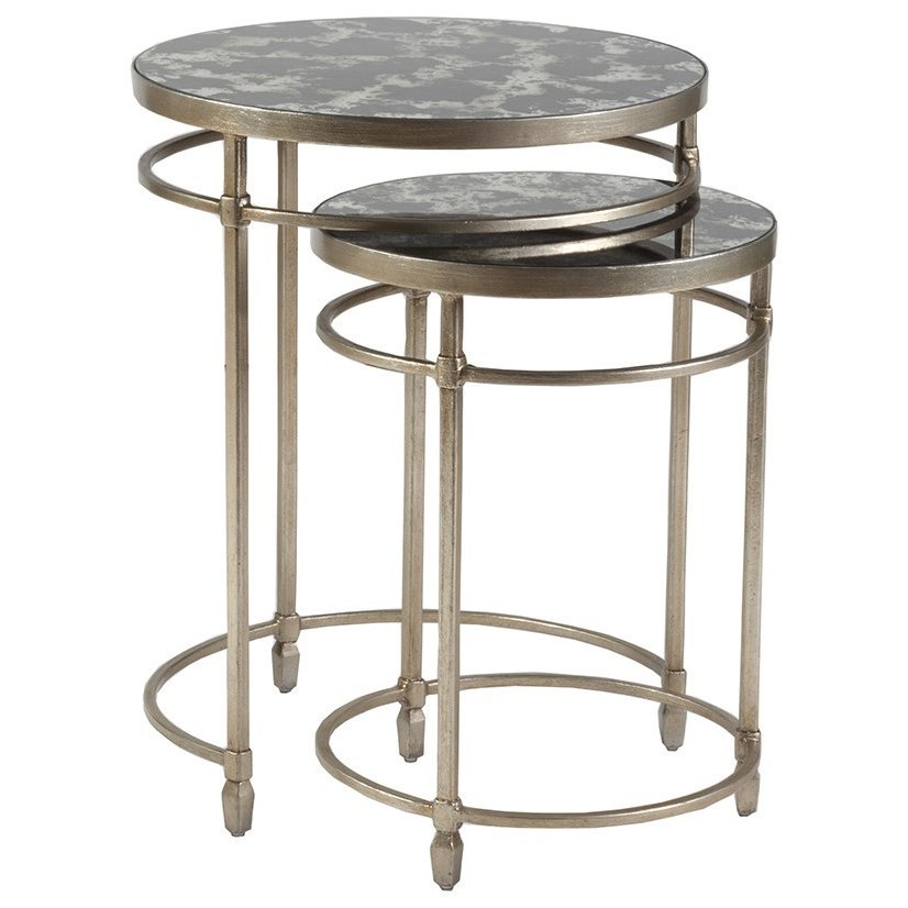 Colette Colette Round Nesting Tables by Artistica at Baer's Furniture