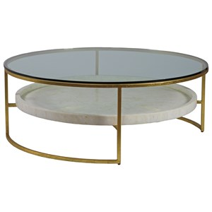 Round  50 Inch Cocktail Table