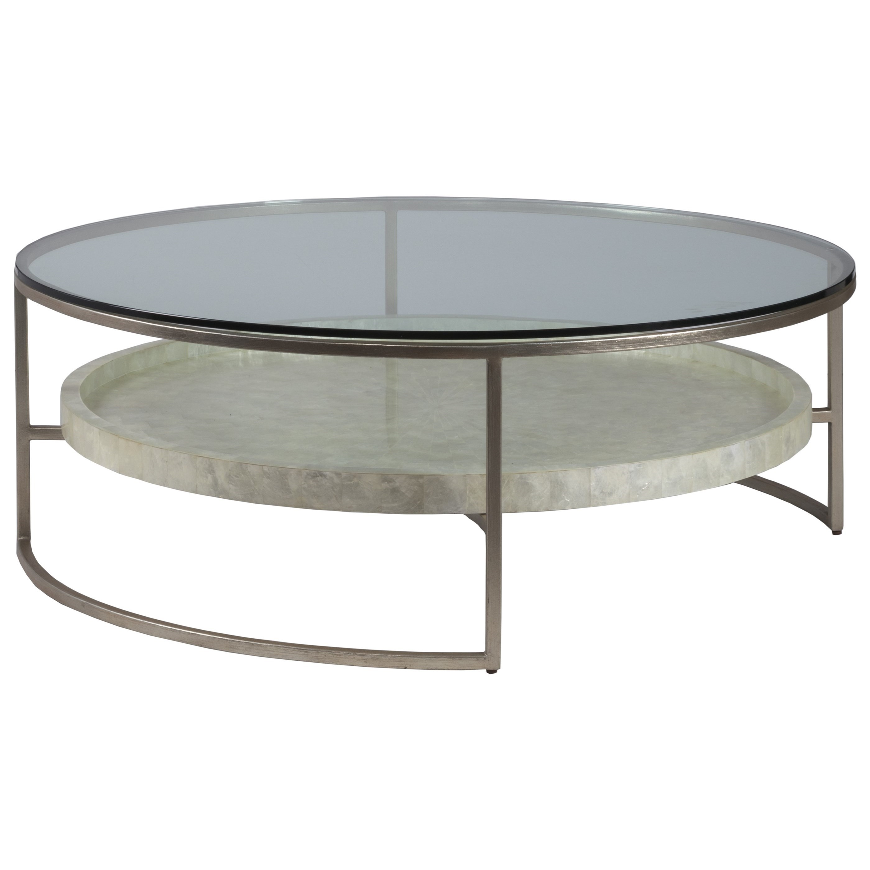 Cumulus Round  50 Inch Cocktail Table by Artistica at Baer's Furniture